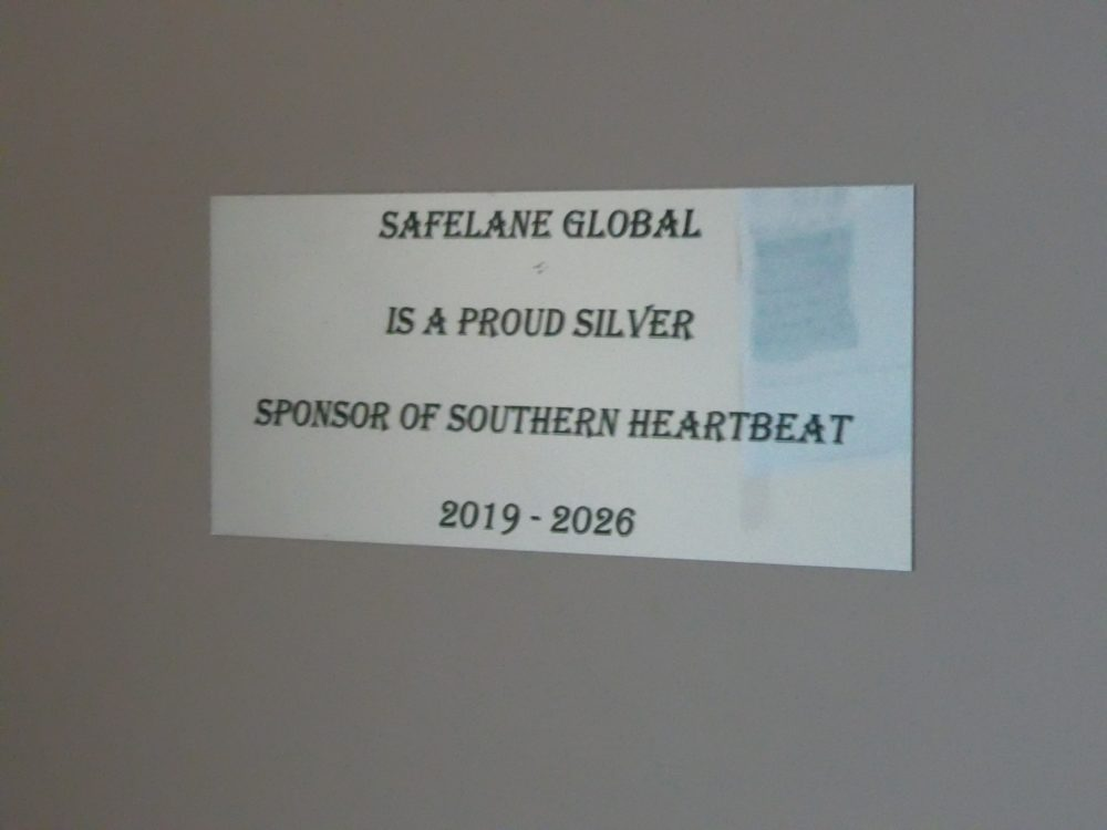 SafeLane sponsored Southern Heartbeat charity in the Falkland Islands to install defibrillators