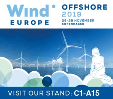 Offshore Wind Europe in Copenhagen on November 26th - 28th