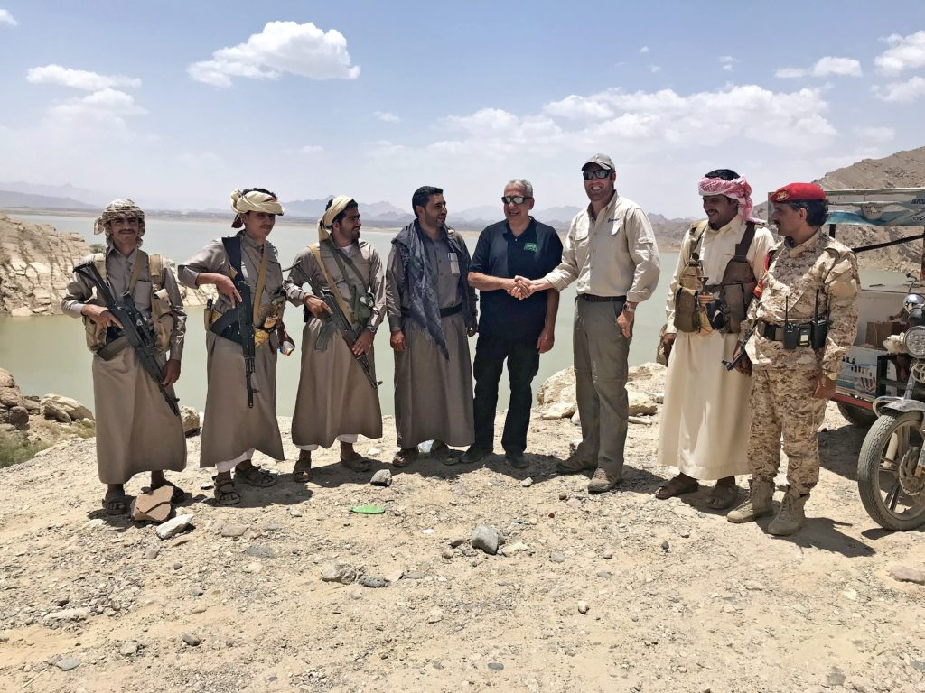 Adam Ainsworth CEO in Yemen