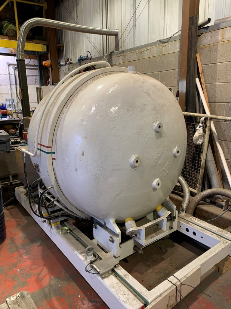 SafeLane's pressurised safe containment vessel for bombs and viruses